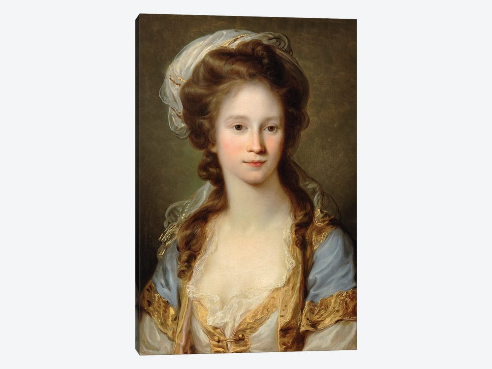 Portrait Of A Lady, c.1780 by Angelica Kauffmann 1-piece Canvas Wall Art