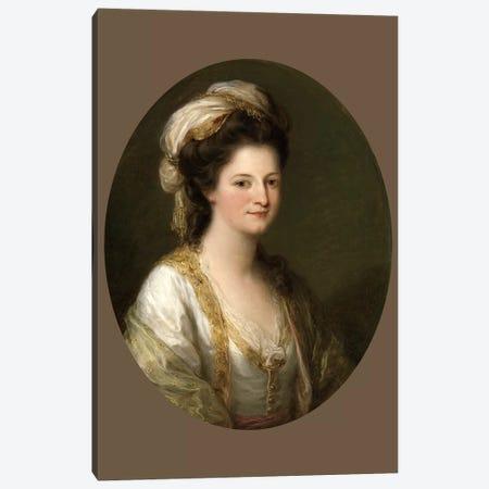 Portrait Of A Woman, c.1770 Canvas Print #BMN7511} by Angelica Kauffmann Canvas Artwork