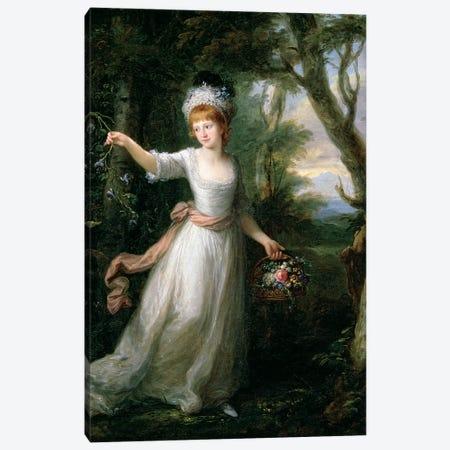 Portrait Of Henrietta Laura Pulteney Canvas Print #BMN7517} by Angelica Kauffmann Canvas Art Print
