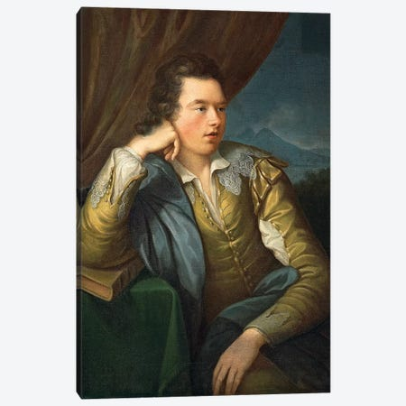 Portrait Of John Campbell Canvas Print #BMN7518} by Angelica Kauffmann Canvas Wall Art