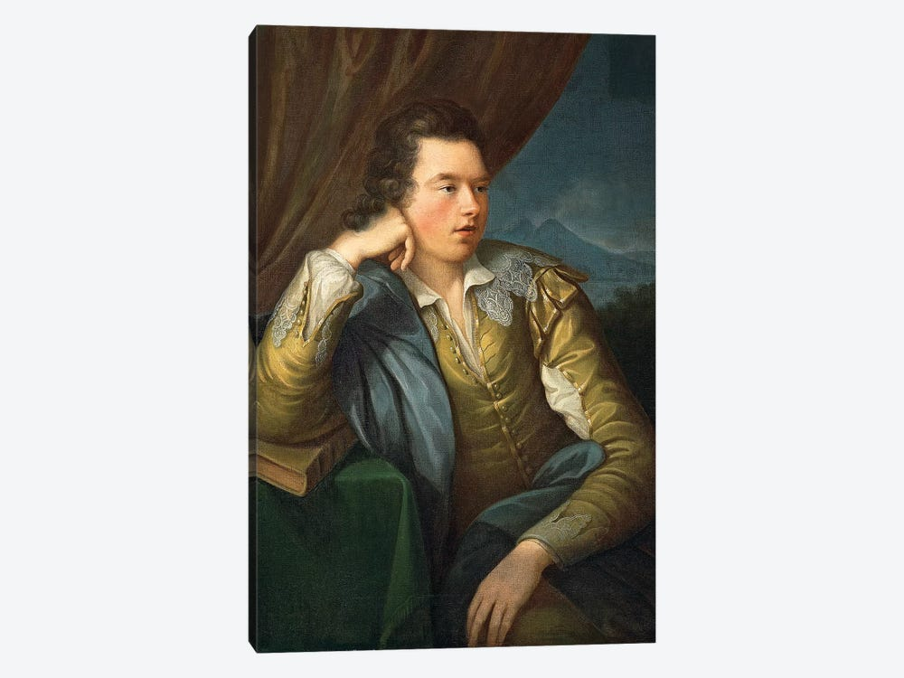 Portrait Of John Campbell by Angelica Kauffmann 1-piece Canvas Artwork