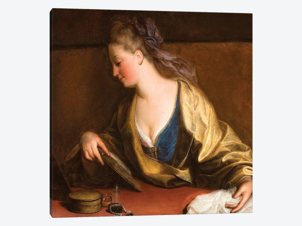 Portrait Of Mrs. Siddons by Angelica Kauffmann 1-piece Canvas Art Print