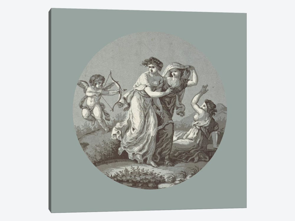 Revenge Of Love, c.1785 by Angelica Kauffmann 1-piece Canvas Wall Art
