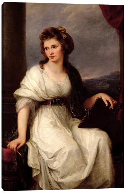 Self Portrait, 1787 Canvas Art Print