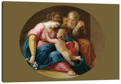 The Holy Family Canvas Art Print