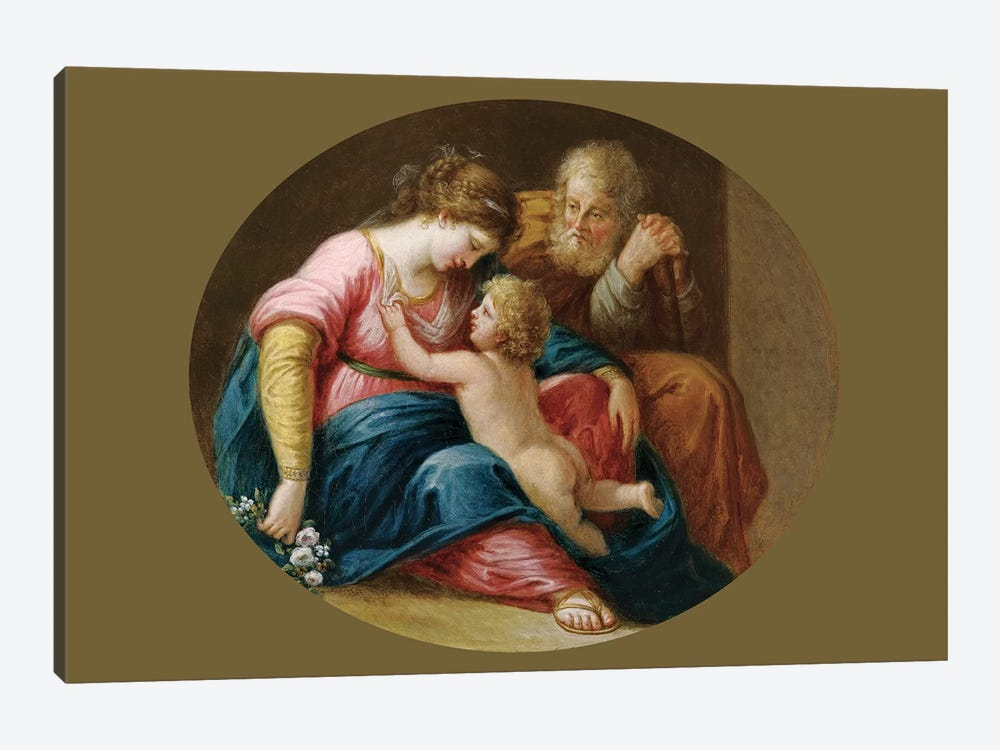 The Holy Family by Angelica Kauffmann 1-piece Canvas Print