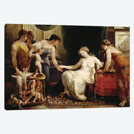 Vendor Of Love Canvas Print #BMN7540} by Angelica Kauffmann Canvas Art Print