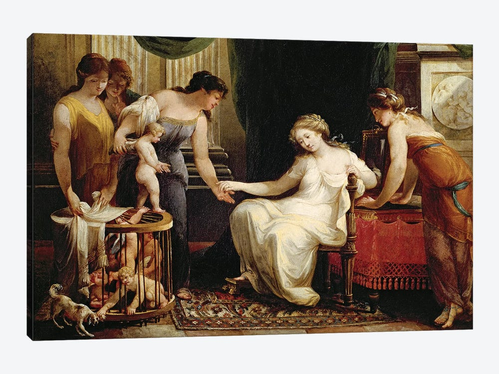 Vendor Of Love by Angelica Kauffmann 1-piece Art Print