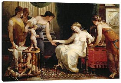 Vendor Of Love Canvas Art Print
