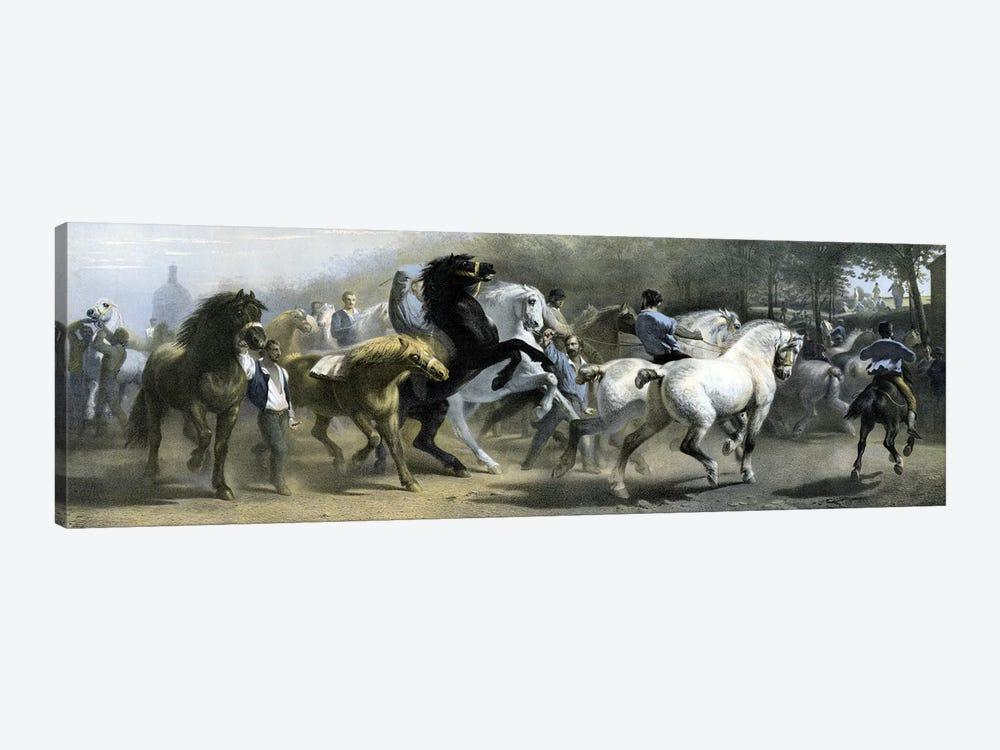 The Horse Fair (Colour Lithograph) by Rosa Bonheur 1-piece Canvas Print