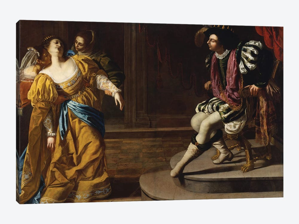 Esther Before Ahasuerus, c.1630 by Artemisia Gentileschi 1-piece Canvas Art
