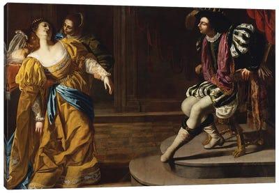 Esther Before Ahasuerus, c.1630 Canvas Art Print