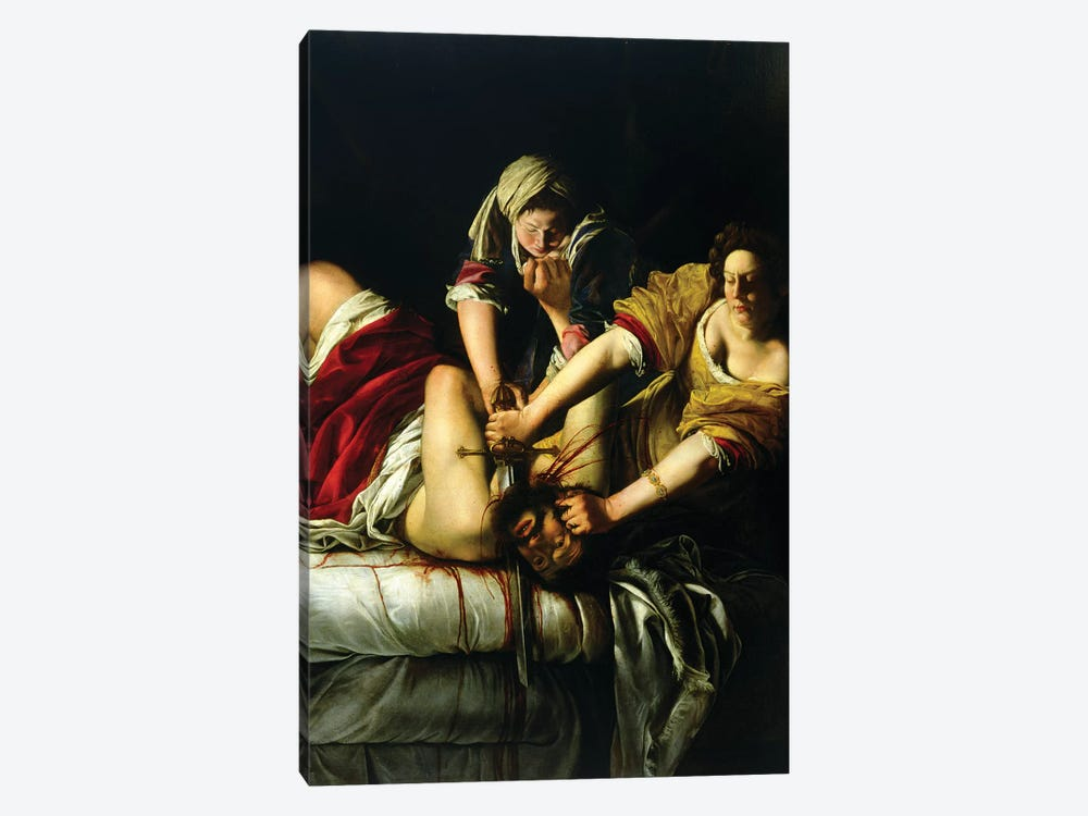 Judith Slaying Holofernes (Galleria degli Uffizi), 1612-21 1-piece Art Print