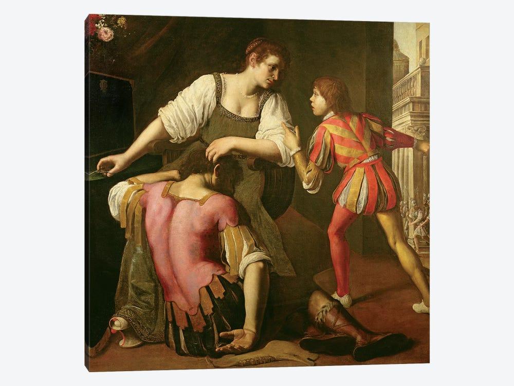 Samson And Delilah by Artemisia Gentileschi 1-piece Canvas Print
