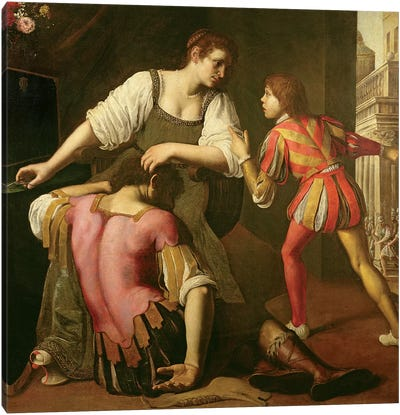 Samson And Delilah Canvas Art Print