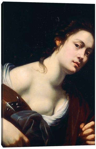 St. Catherine Canvas Art Print
