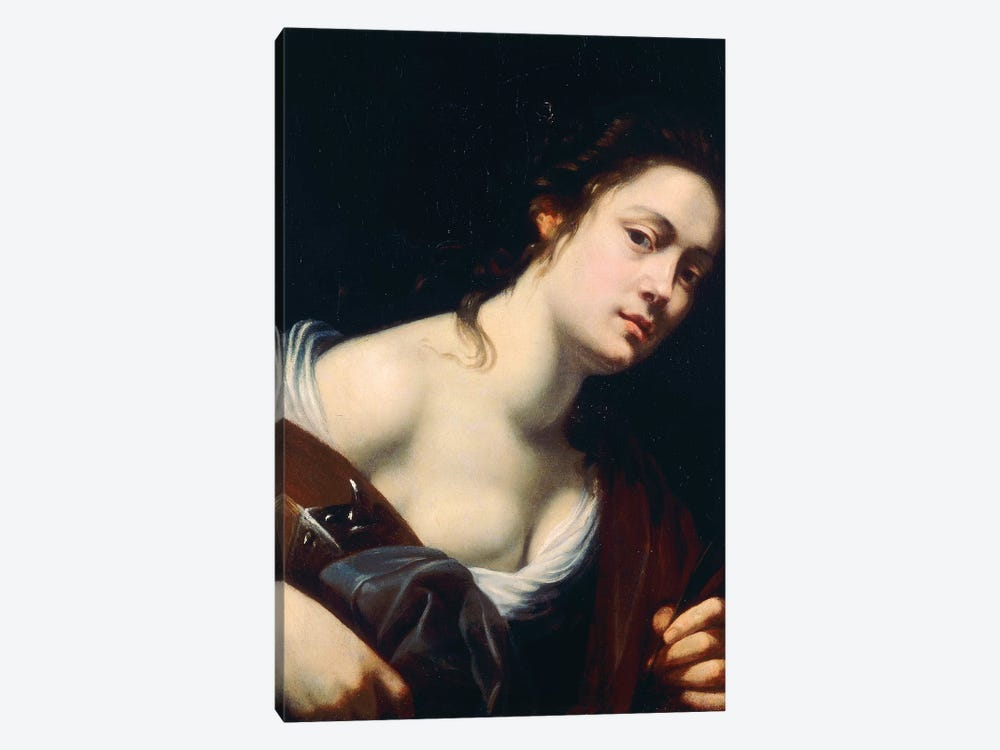 St. Catherine by Artemisia Gentileschi 1-piece Canvas Art Print