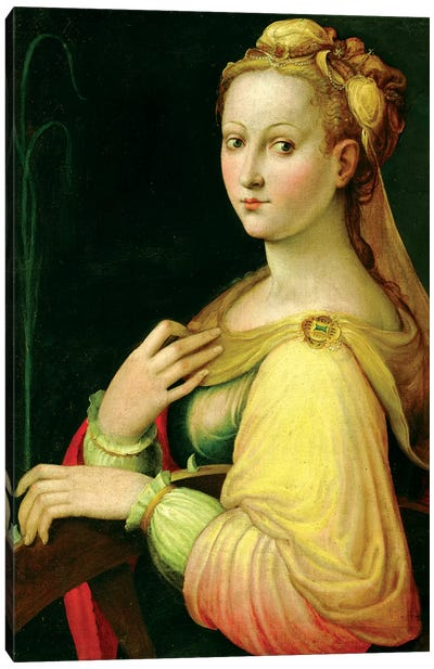 St. Catherine Of Alexandria Canvas Art Print