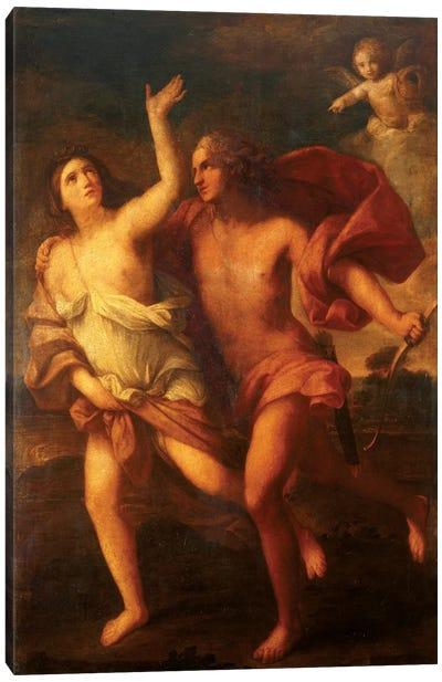Daphne And Apollo Canvas Art Print