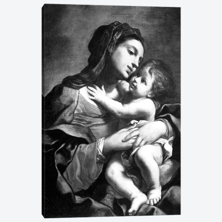 Madonna And Child Canvas Print #BMN7596} by Elisabetta Sirani Canvas Print