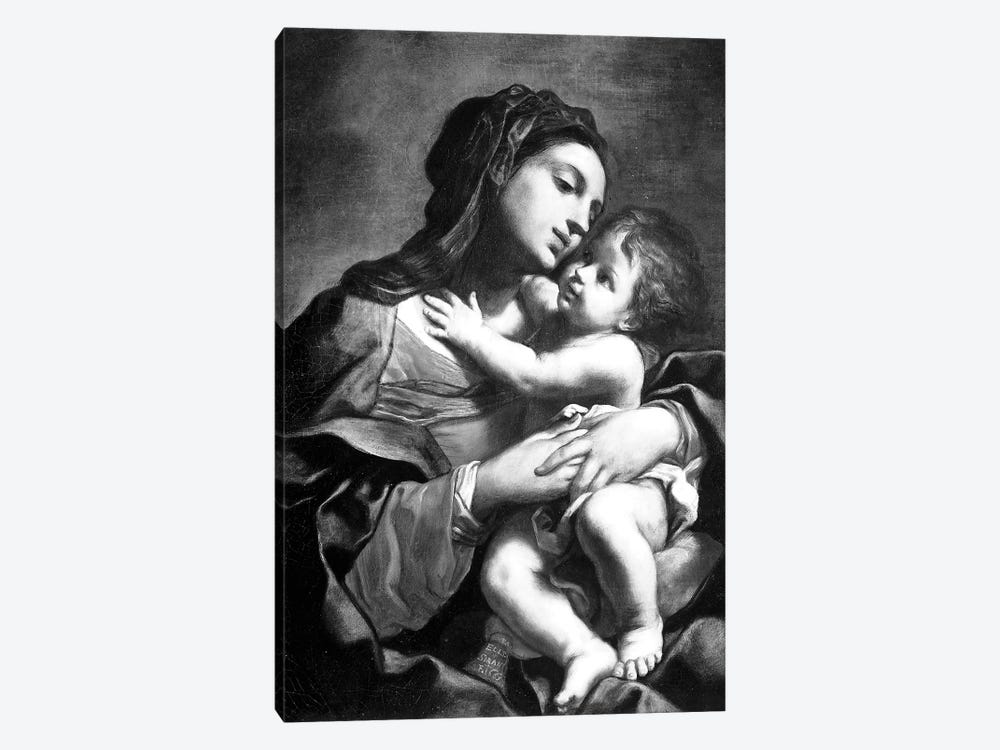 Madonna And Child 1-piece Canvas Wall Art