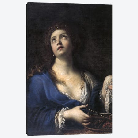 Porcia Canvas Print #BMN7598} by Elisabetta Sirani Canvas Artwork