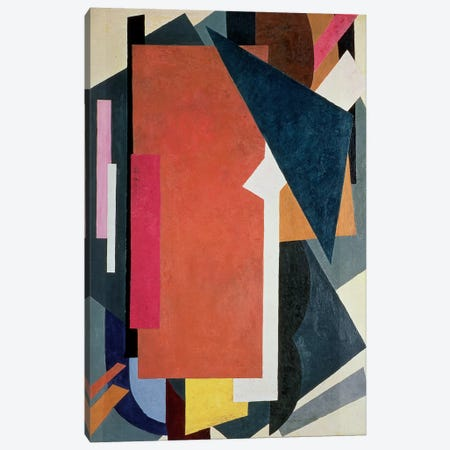 Painterly Architectonics, 1916-17 Canvas Print #BMN75} by Lyubov Popova Canvas Wall Art