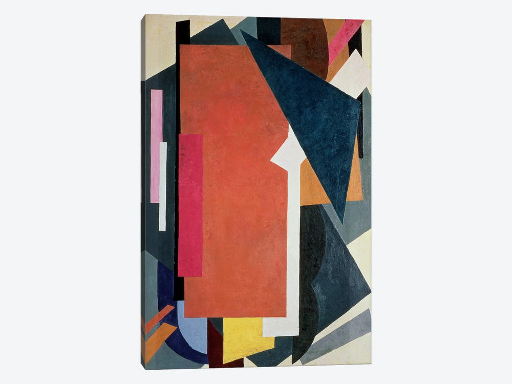 Painterly Architectonics, 1916-17 by Lyubov Popova 1-piece Canvas Wall Art