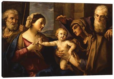 The Holy Family Canvas Art Print