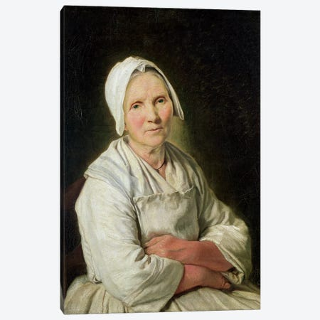 The Old Woman Canvas Print #BMN7602} by Francoise Duparc Canvas Art