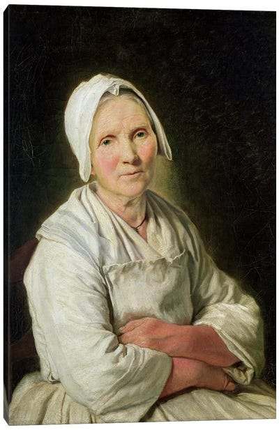 The Old Woman Canvas Art Print