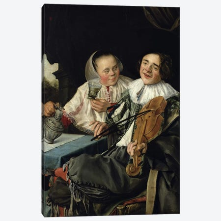 Merry Company, 1630 Canvas Print #BMN7611} by Judith Leyster Canvas Print