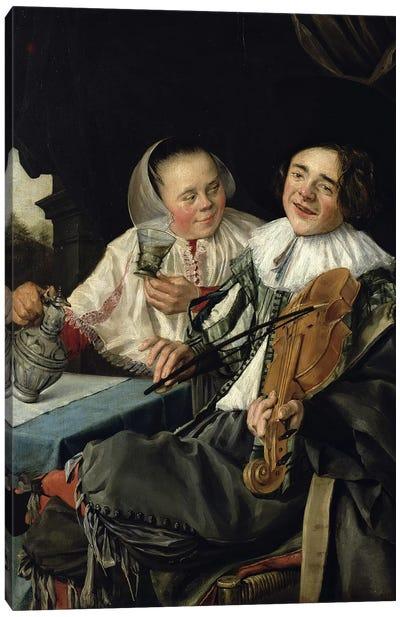 Merry Company, 1630 Canvas Art Print