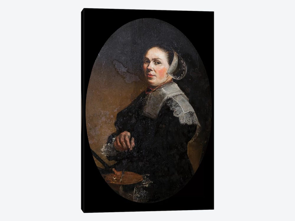 Self Portrait by Judith Leyster 1-piece Canvas Wall Art
