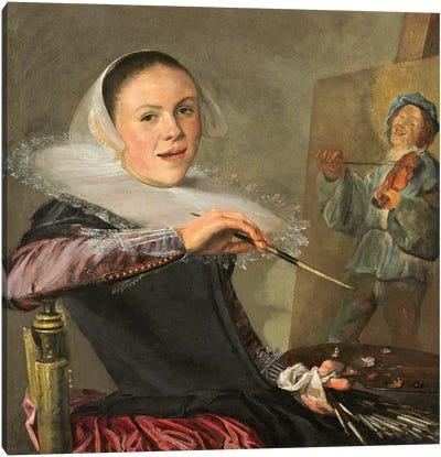 Self-Portrait, c.1630 Canvas Art Print