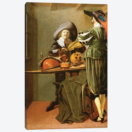 The Musicians Canvas Print #BMN7614} by Judith Leyster Canvas Artwork