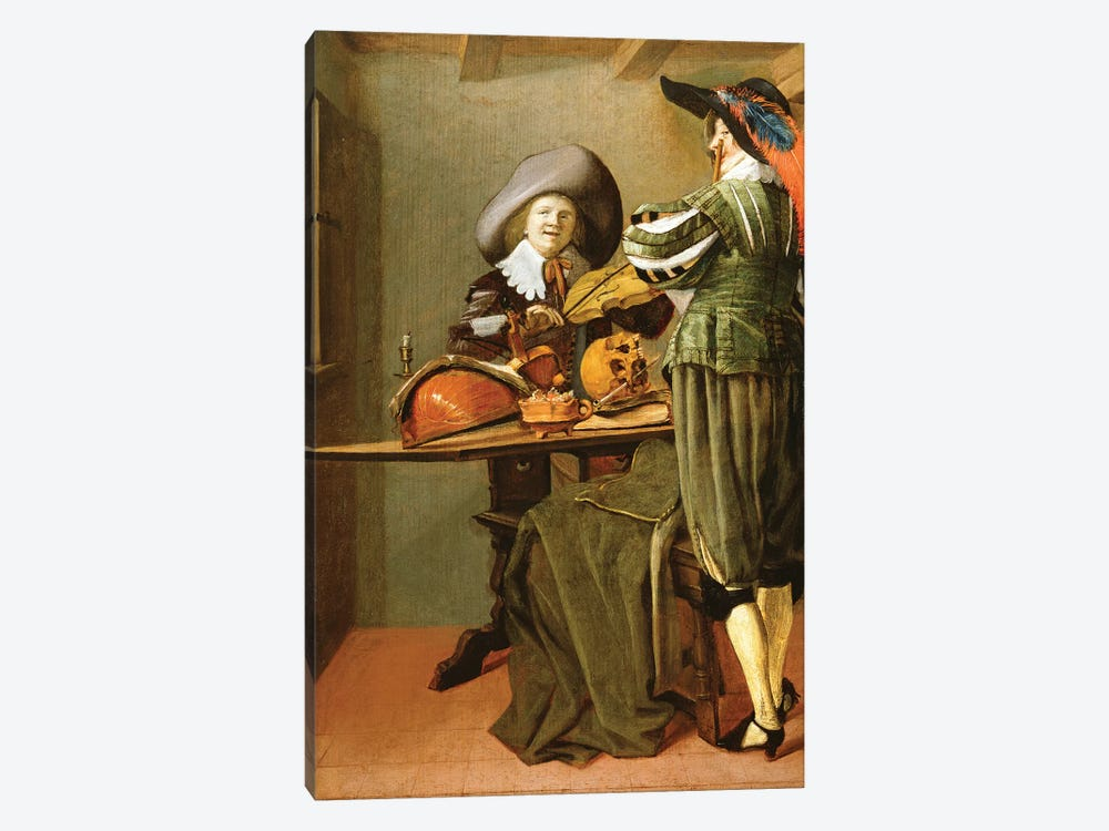 The Musicians by Judith Leyster 1-piece Canvas Art