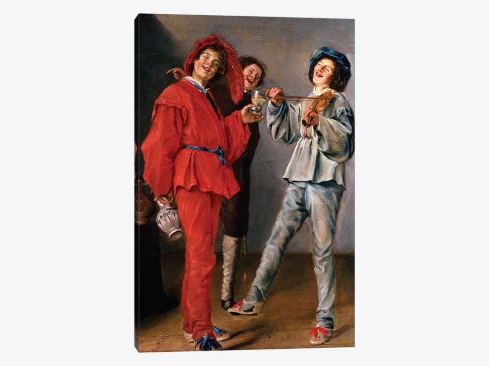 Three Boys Merry-Making, c.1629 by Judith Leyster 1-piece Art Print