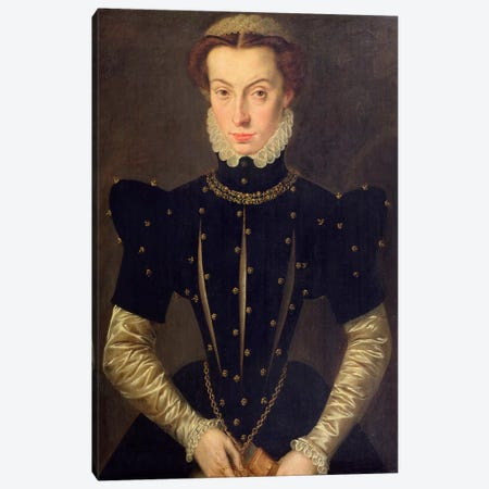 Portrait Of The Blessed Margaret Of Lorraine Canvas Print #BMN7617} by Catharina van Hemessen Canvas Art