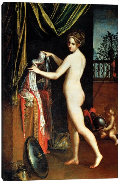 Minerva, 1613 Canvas Art Print
