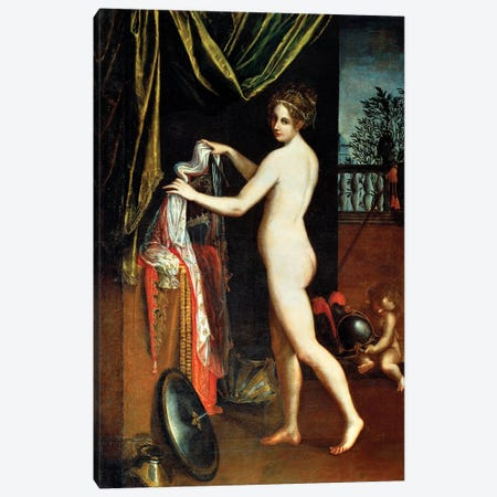 Minerva, 1613 Canvas Print #BMN7619} by Lavinia Fontana Art Print