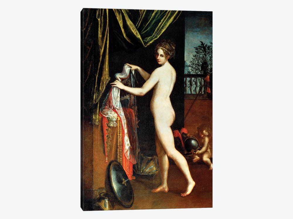 Minerva, 1613 by Lavinia Fontana 1-piece Canvas Print