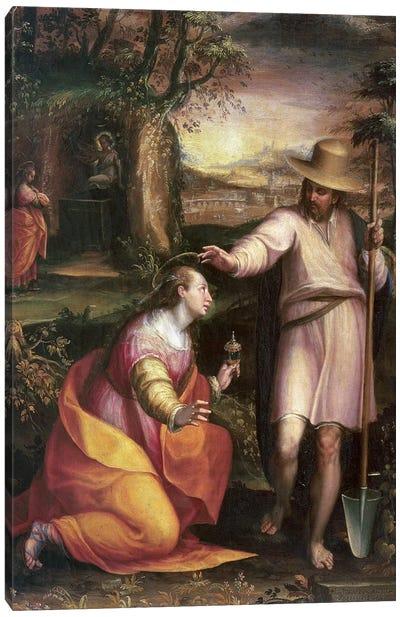 Noli me Tangere (Touch Me Not), 1581 Canvas Art Print