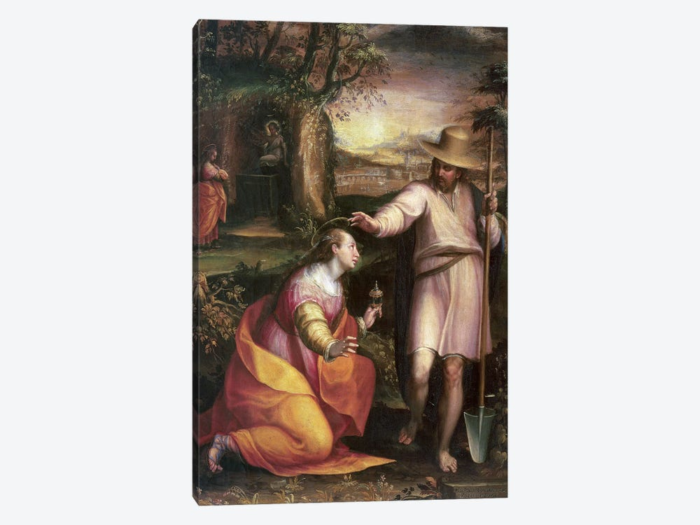 Noli me Tangere (Touch Me Not), 1581 by Lavinia Fontana 1-piece Art Print