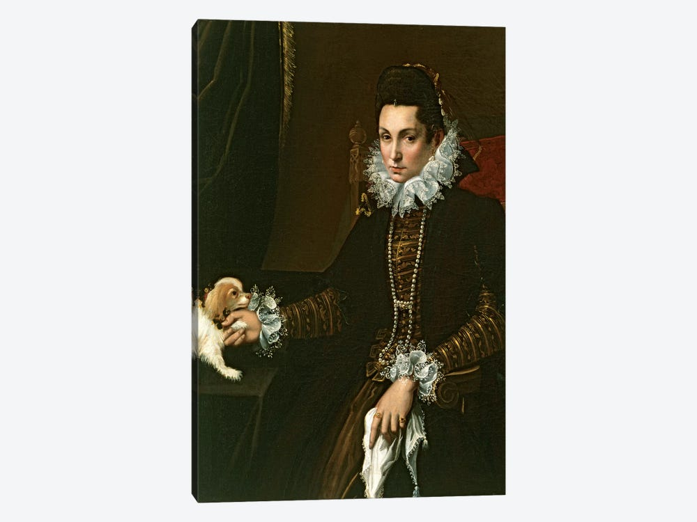 Portrait Of Ginevra Aldrovandi Hercolani As A Widow, c.1597-99 by Lavinia Fontana 1-piece Art Print