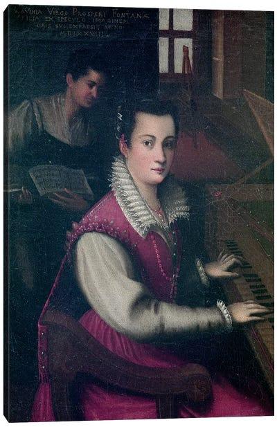 Self Portrait, 1578 (Galleria degli Uffizi) Canvas Art Print