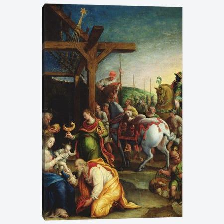 The Adoration Of The Magi, c.1570-99 Canvas Print #BMN7629} by Lavinia Fontana Canvas Art