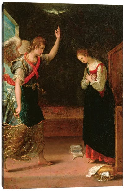 The Annunciation Canvas Art Print