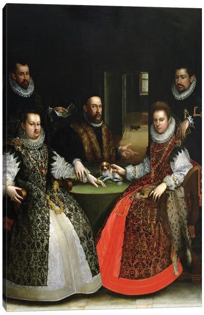 The Gozzadini Family Canvas Art Print