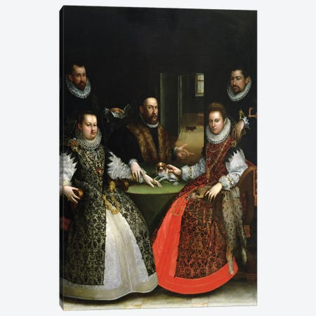The Gozzadini Family Canvas Print #BMN7631} by Lavinia Fontana Canvas Print